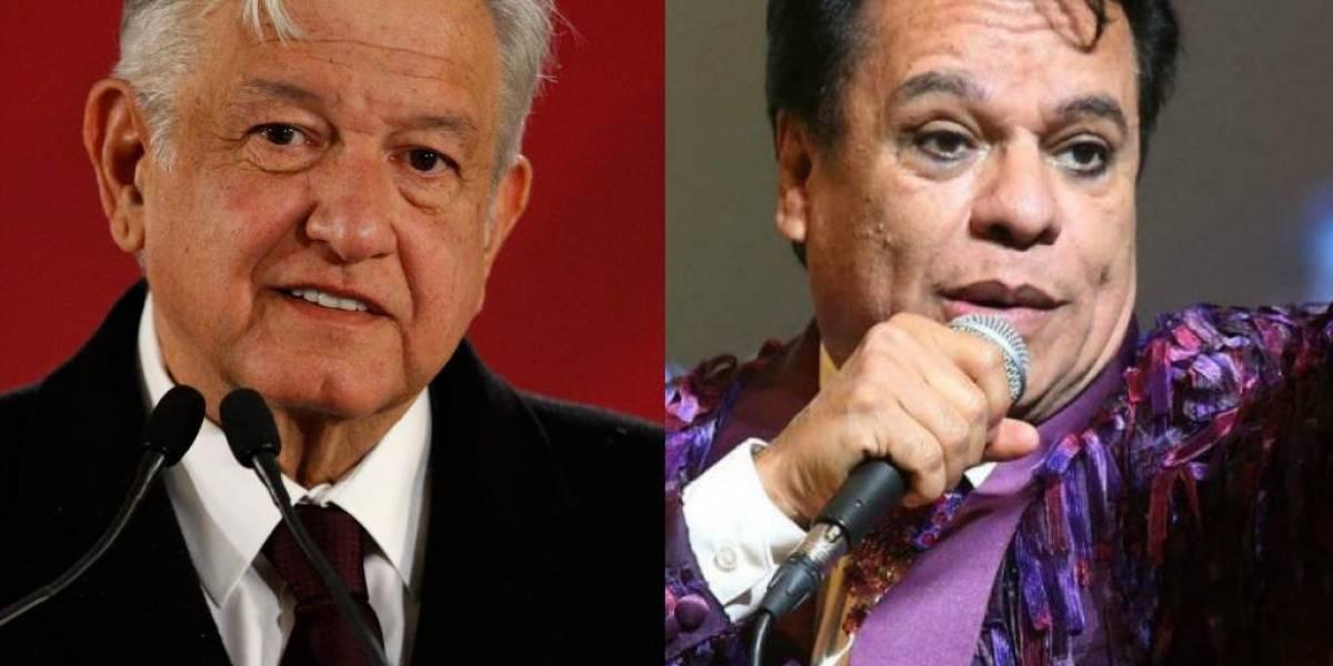 Conductora de Televisa confirma que el presidente AMLO ya dio cita a Juan Gabriel