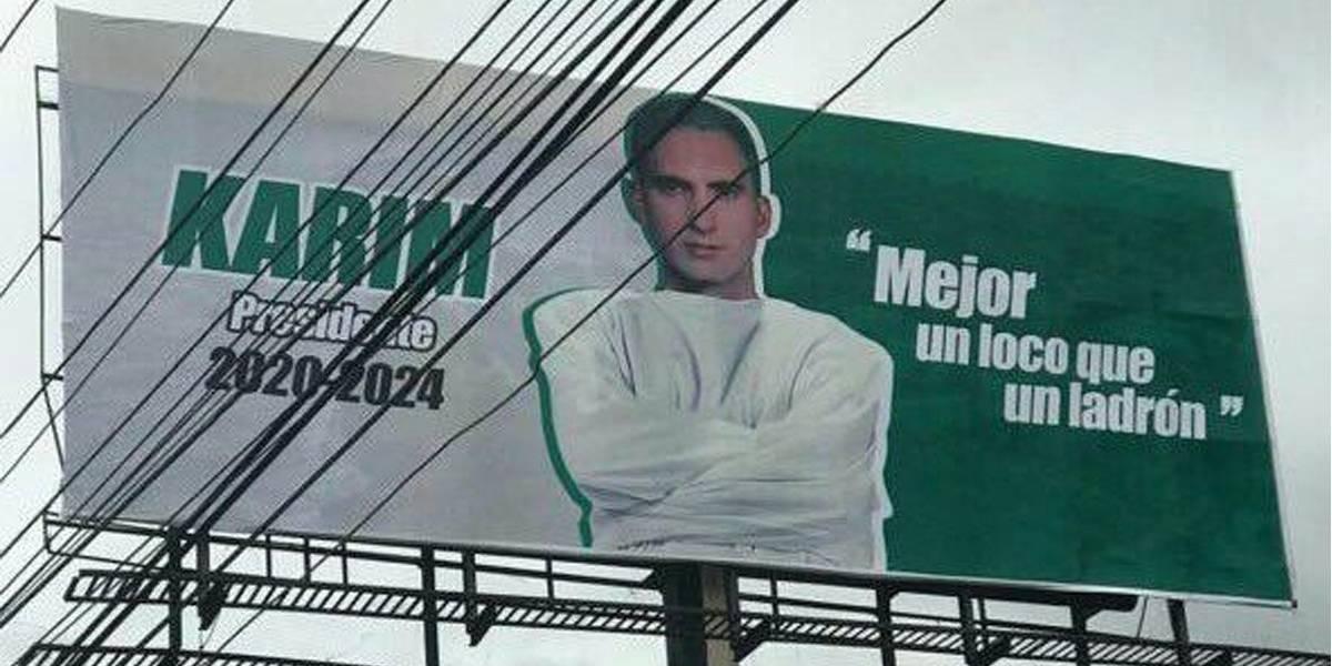 Partido Verde anuncia Karim Abu Naba'a no será su candidato a la Presidencia