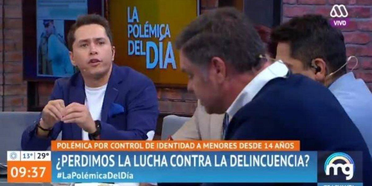 """El tenso cruce protagonizado por Karol Lucero y Manuel José Ossandón en """"Mucho Gusto"""""""