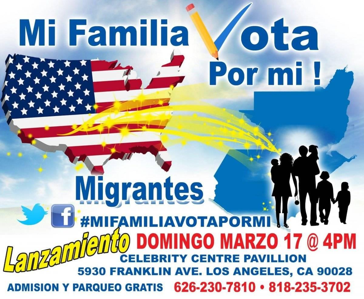 Mi familia vota por mí, Red Migrante Guatemalteca
