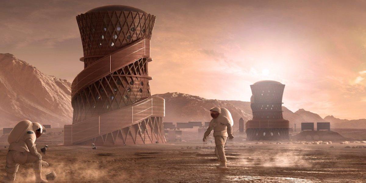 Así podrían ser nuestras futuras casas en Marte