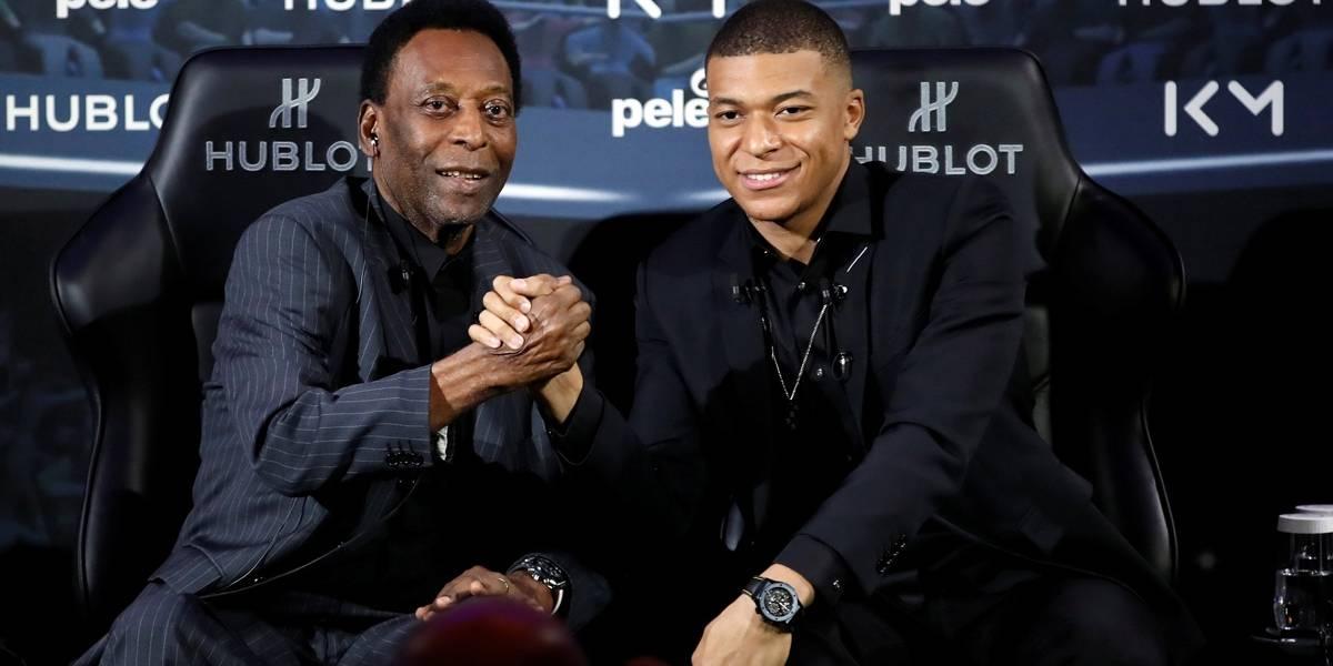 Após encontro com Mbappé, Pelé é internado em um hospital de Paris