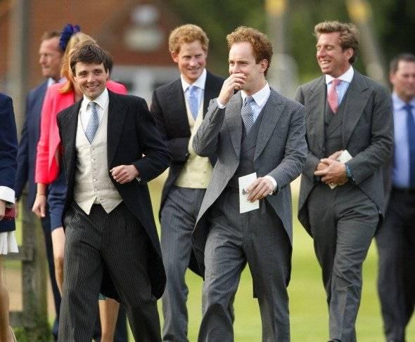 Príncipe Harry y sus amigos