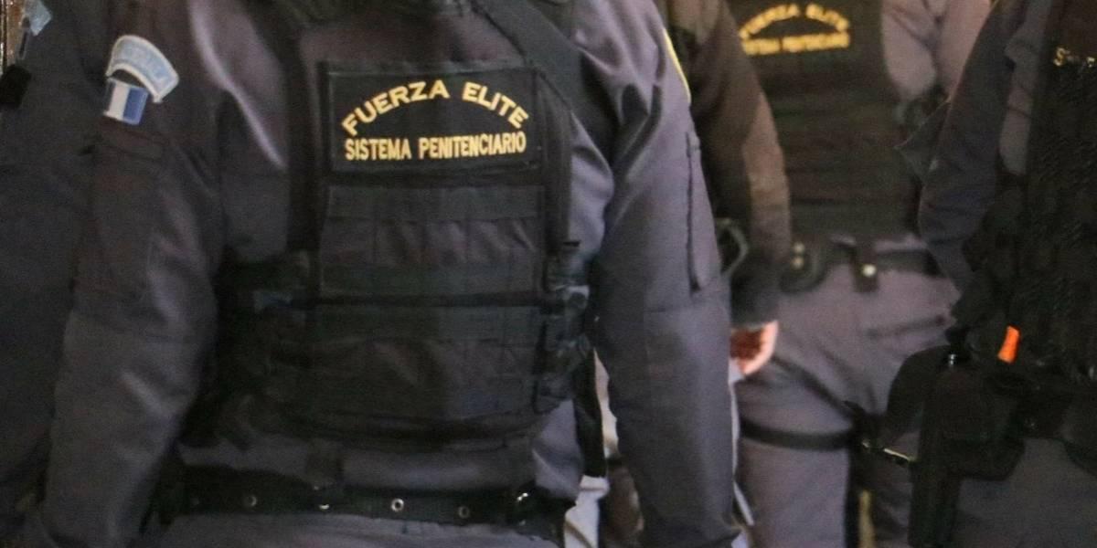 Inspeccionan la cárcel Fraijanes II en busca de ilícitos
