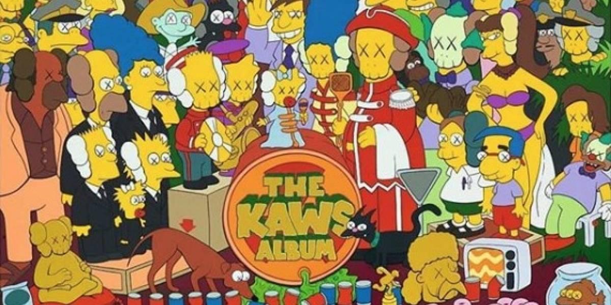 Coleccionista chino compra una pieza de arte de Los Simpsons por 28 millones de dólares