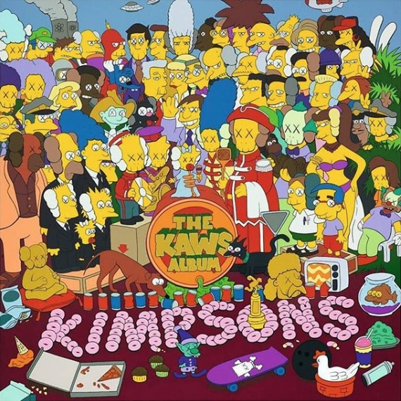 Los Simpsons arte