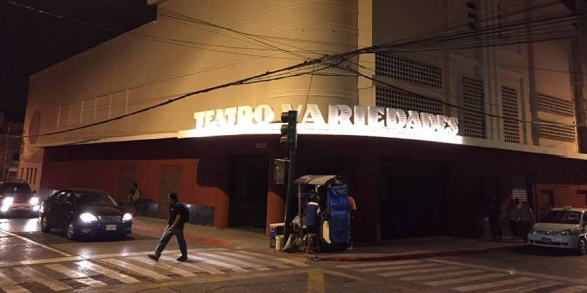 Teatro Variedades abre sus puertas desde el Sábado de Ramos