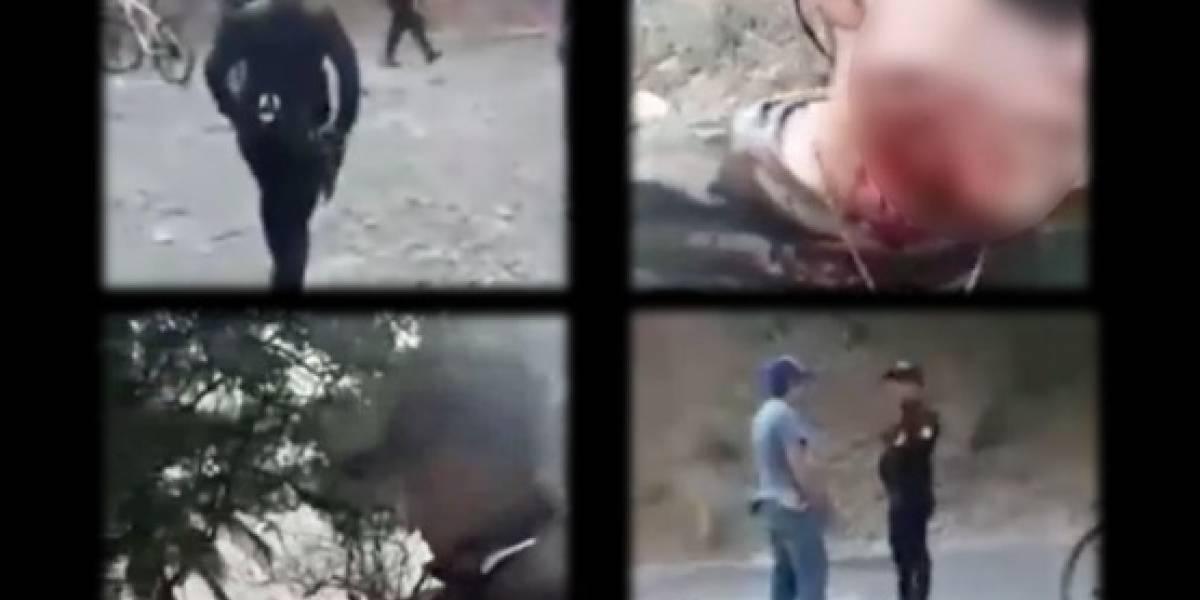 PNC investiga incidente en Amatitlán, mostrado en video que circula en redes