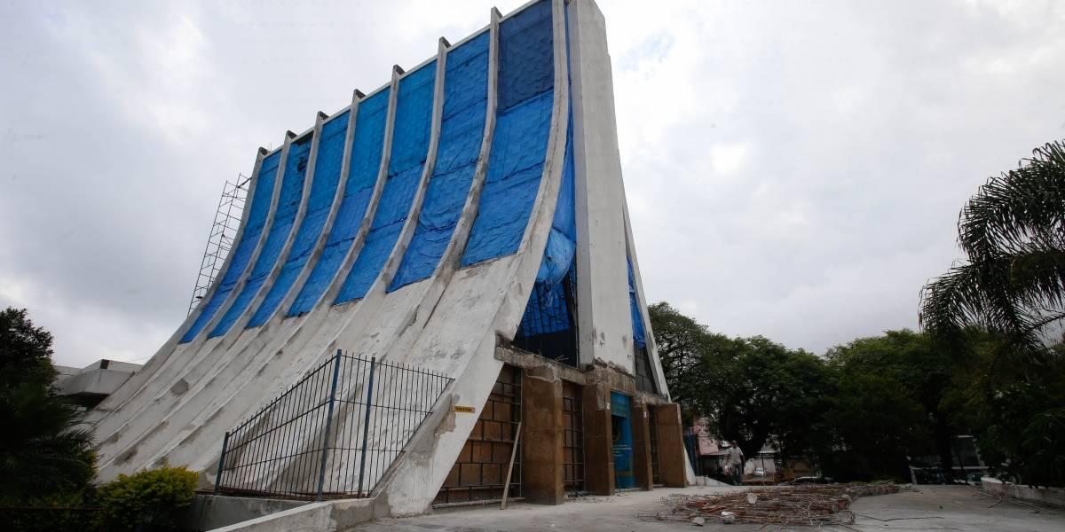 Igreja de São Bernardo passa por reforma antes de completar 60 anos