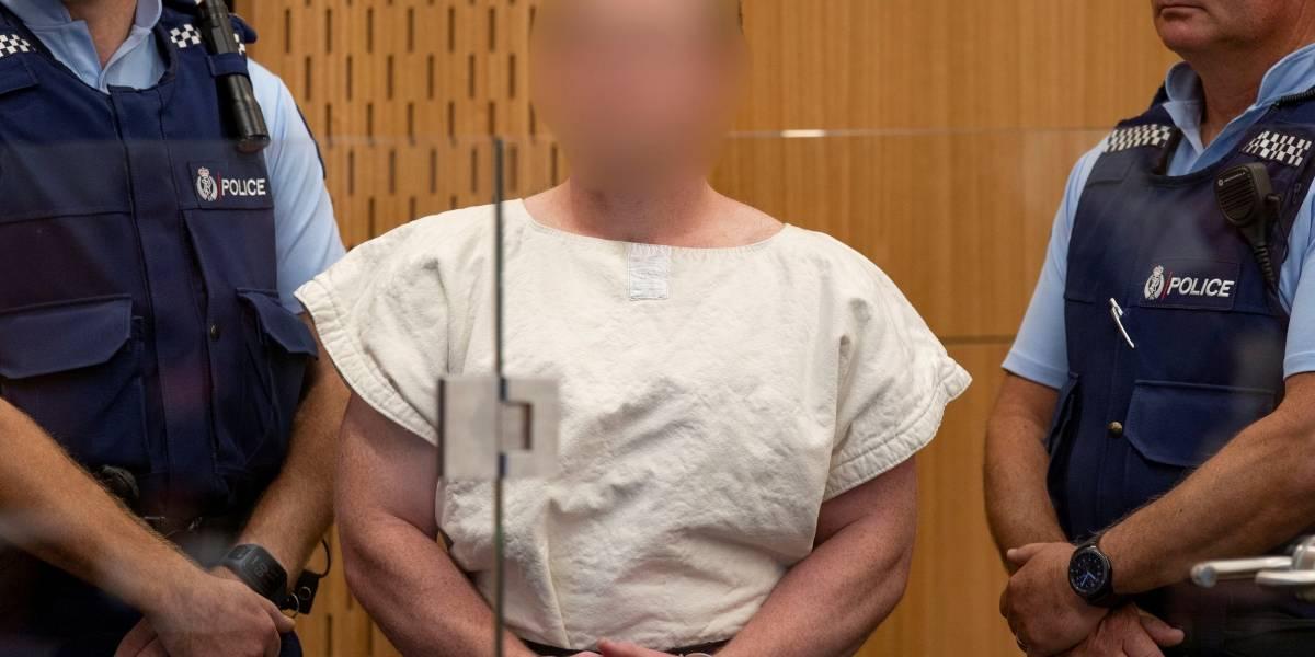 Terrorista da Nova Zelândia responderá 50 acusações de homicídio