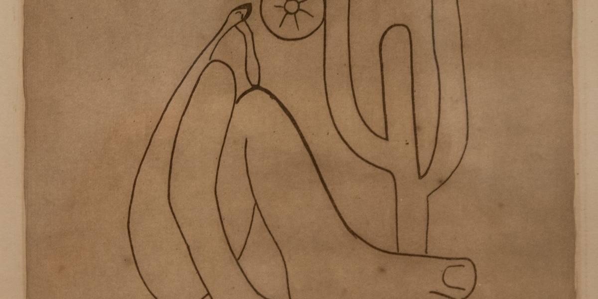Tarsila: mais de duas centenas de desenhos raros serão expostas em março, em Itu