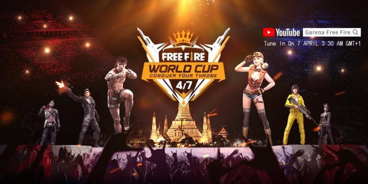 Campeonato mundial do game Free Fire terá transmissão ao vivo