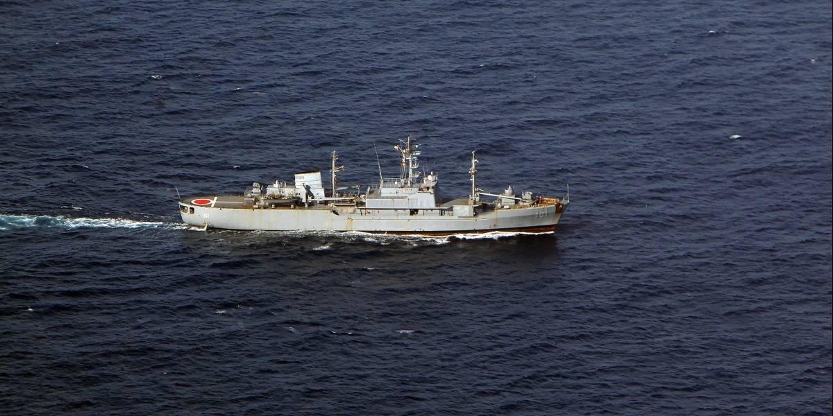 Armada colombiana rescata a náufrago español en el Mar Caribe