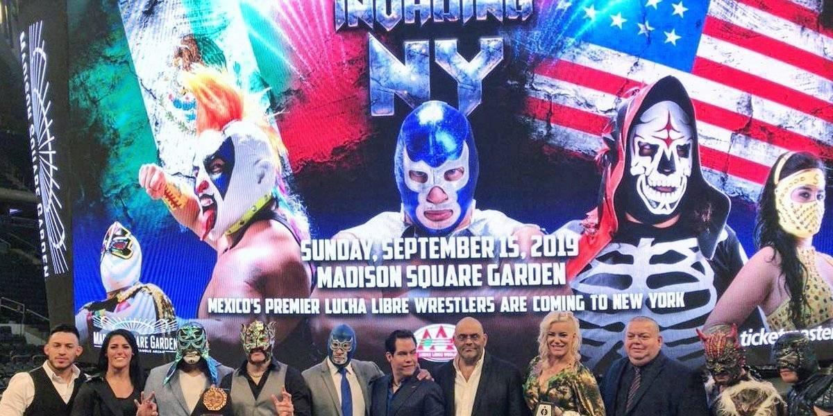 AAA tendrá histórica presentación en el Madison Square Garden