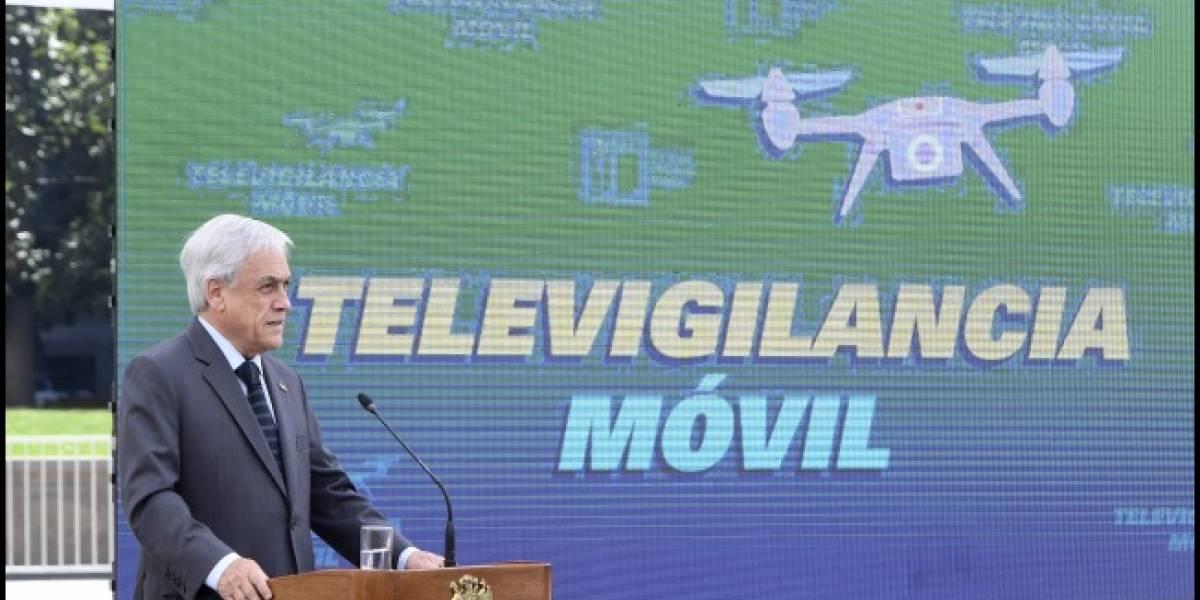 Organizaciones escriben carta a Piñera por televigilancia móvil: Es ilegal y abusa de la autoridad