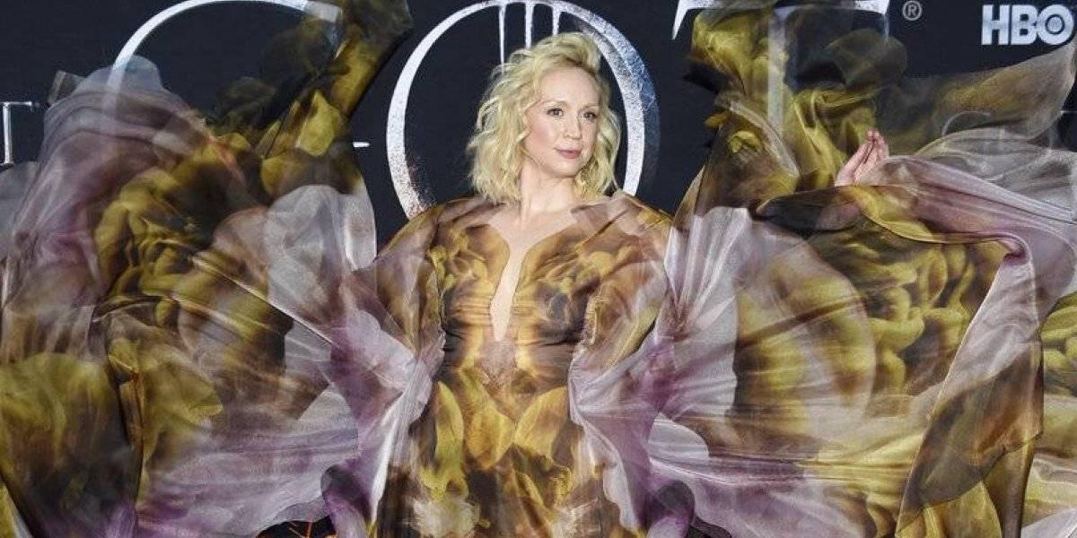 """""""Game of Thrones"""": Gwendoline Christie deslumbró en la gala de la premier"""