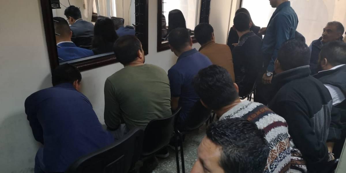 Ligan a proceso a presuntos miembros de estructura de narcotráfico