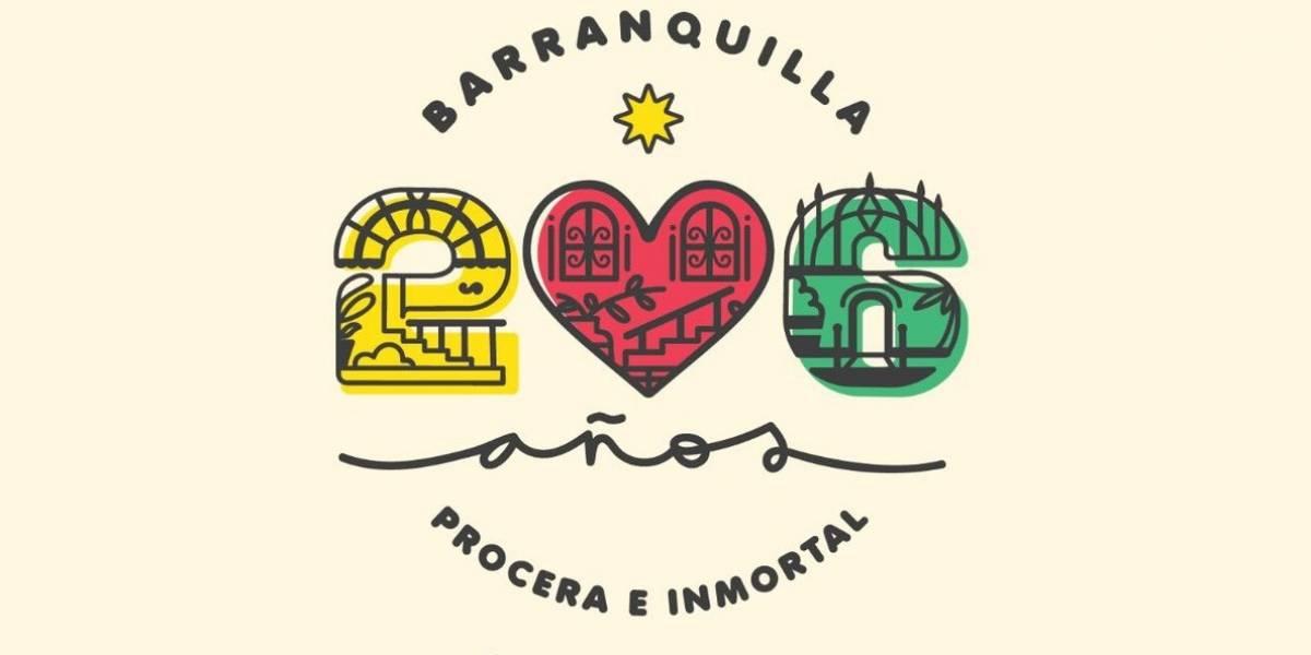Con una bandera humana, Barranquilla celebrará sus 206 años este domingo