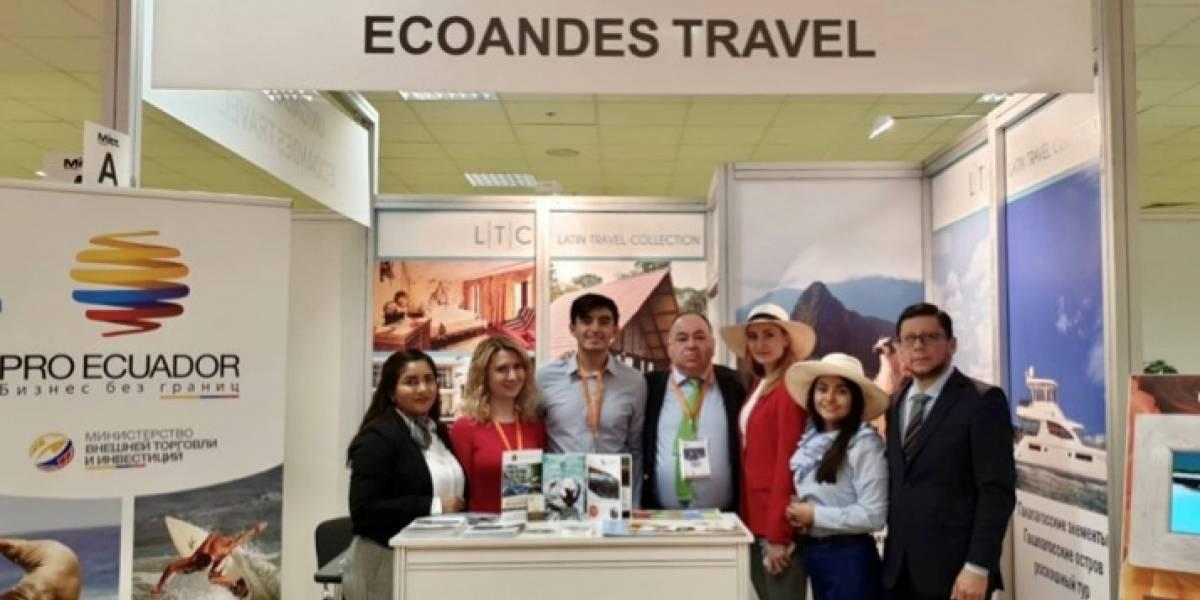 EcoAndes estuvo presente en feria de turismo en Rusia