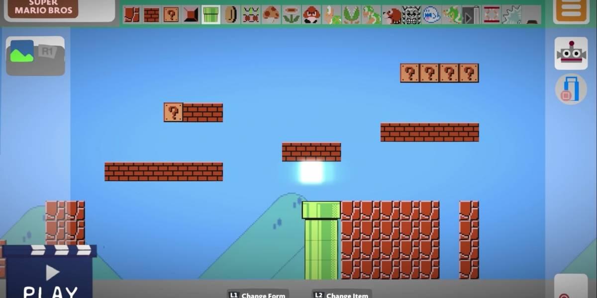 Nintendo y PlayStation juntos: Recrean Super Mario Maker dentro de Little Big Planet 3