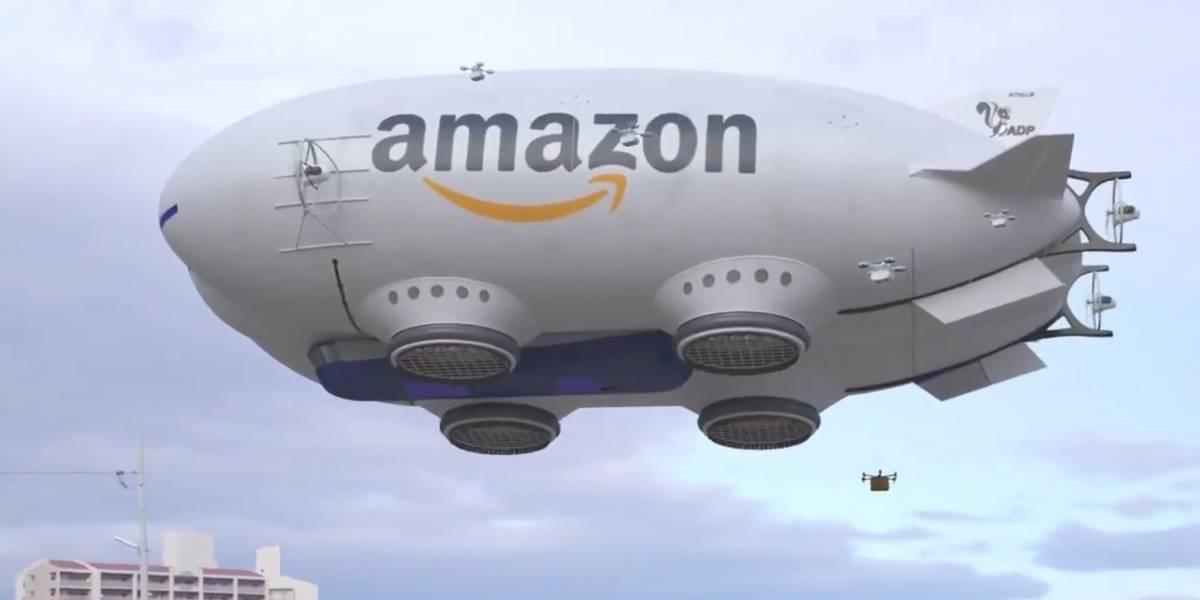La verdad sobre el supuesto dirigible gigante de Amazon