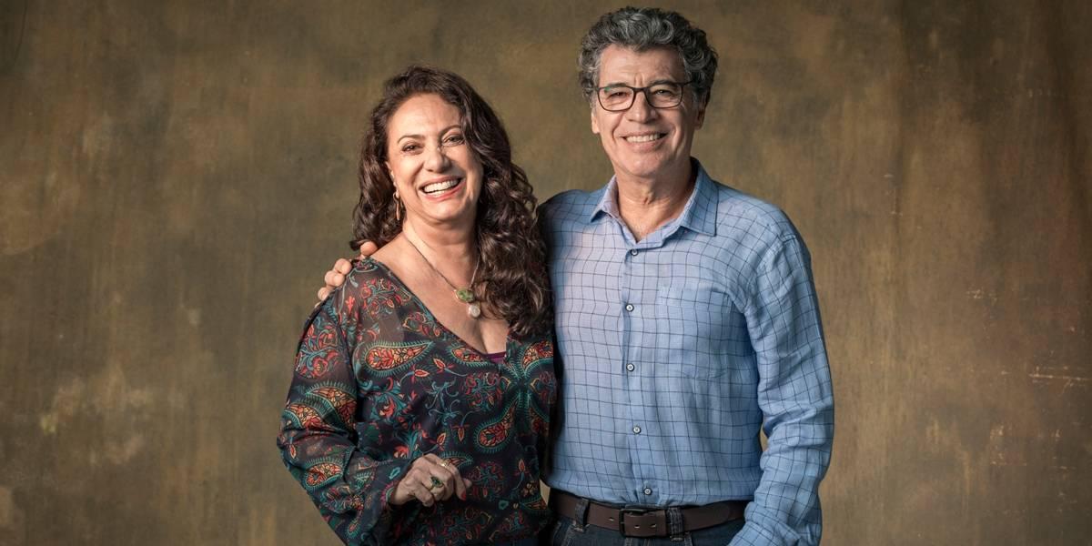 Par em Órfãos da Terra, Eliane Giardini e Paulo Betti foram casados por 25 anos e isso surpreendeu a web