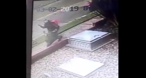 Ladrón se vistió de 'rappitendero' para robar a una joven
