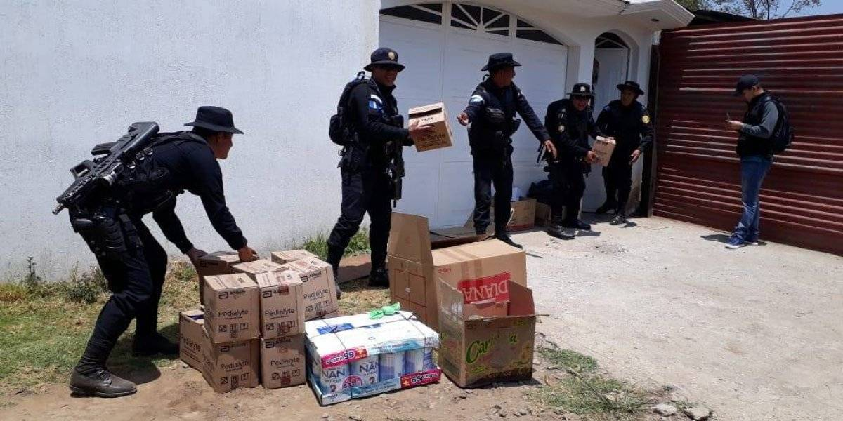 Decomisan medicina de contrabando y capturan a cuatro personas en dos departamentos