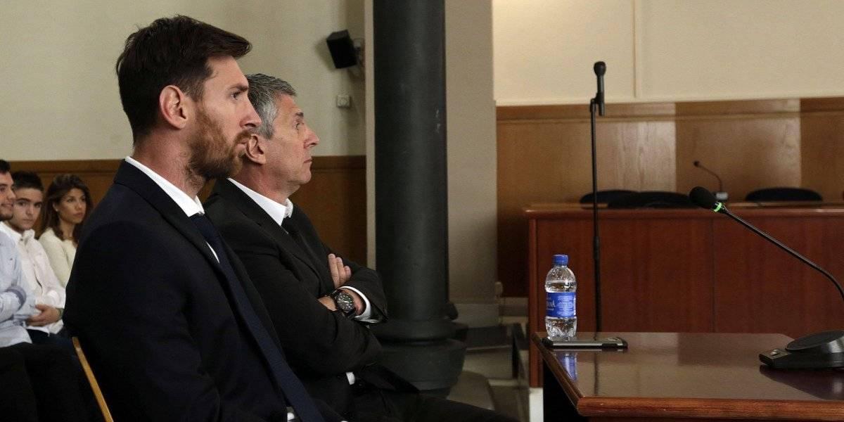 Jorge Messi protagoniza un accidente vial en Rosario