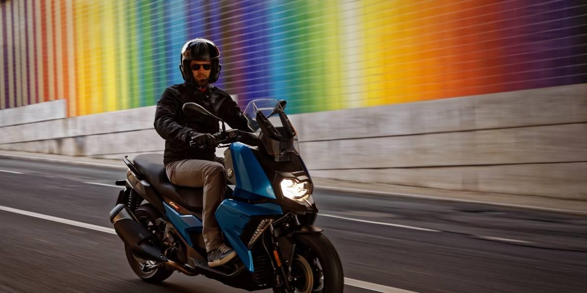 La C400X de BMW llega a dominar en el mercado de los scooters grandes