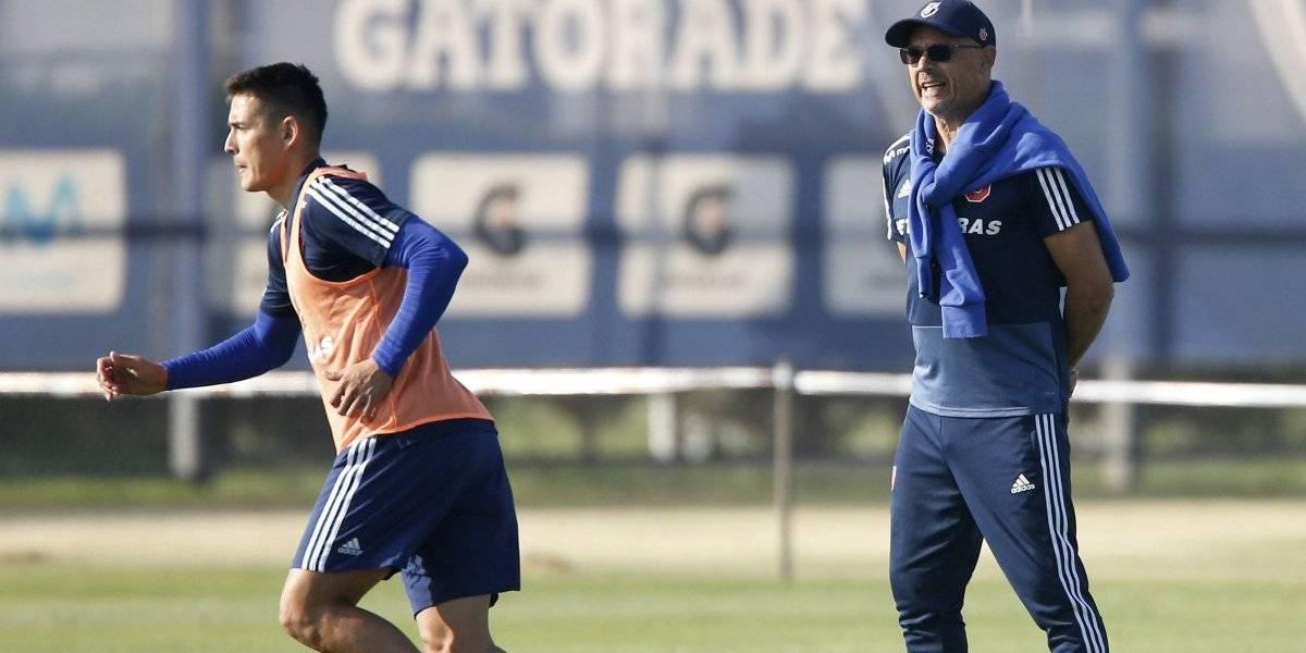 """""""300 tiros al arco"""": La estrategia de Alfredo Arias para mejorar el finiquito de sus delanteros en la U"""