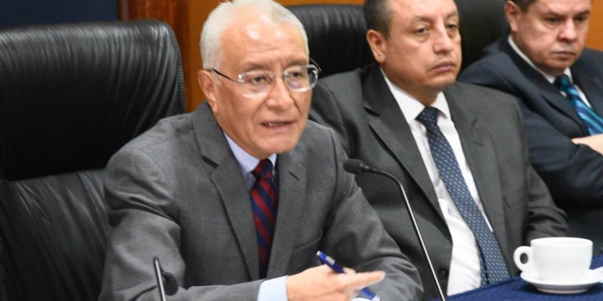 Presidente del TSE responde a declaraciones de Morales sobre el proceso electoral