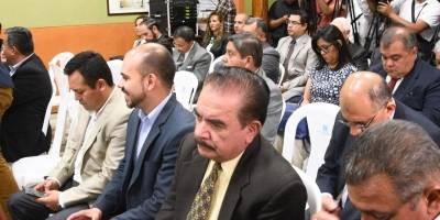 reunión de fiscales de partidos políticos con magistrados del TSE