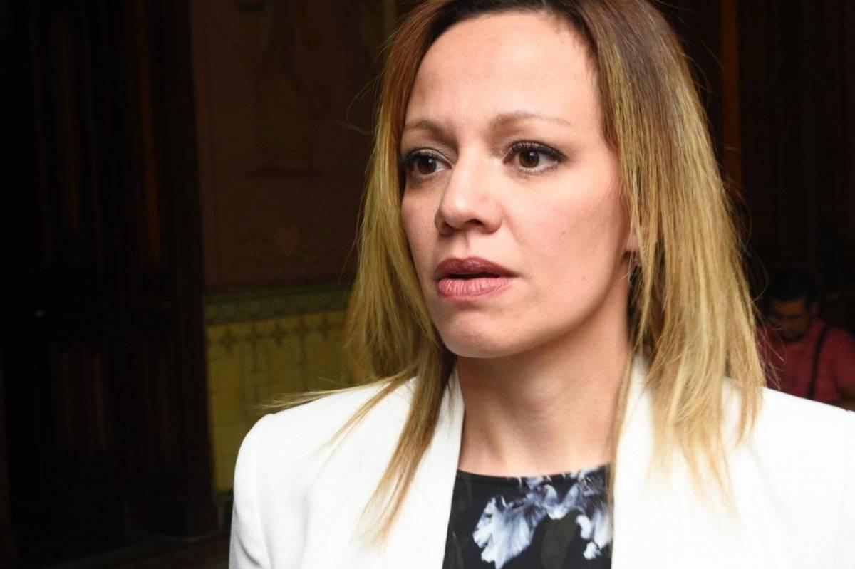 Rosa María Bolaños, jefa de la unidad de Medios de Comunicación del TSE