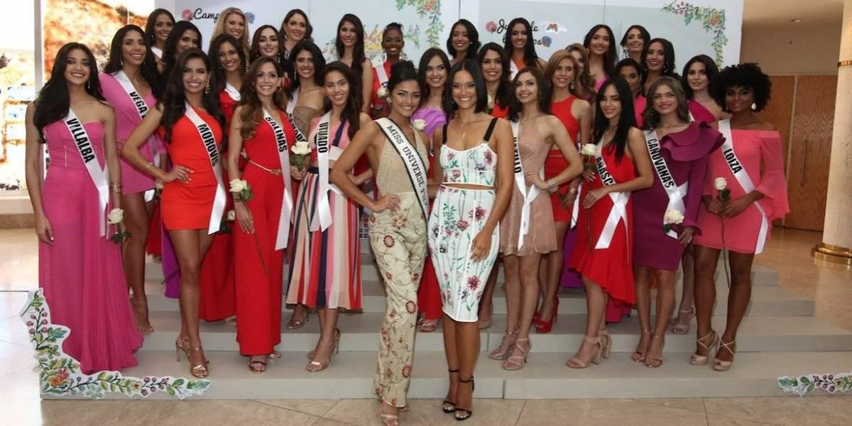 Estas son las fotos oficiales de las candidatas de Miss Universe P. R. 2019