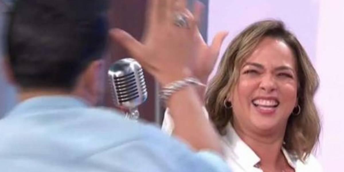 "Adamari López le canta a Luis Fonsi: ""Y yo me voy, adiós, me fui, no me importa"""