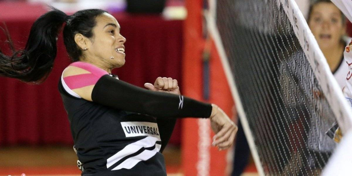 Voleibolista Jetzabel Del Valle llega a los 4,000 puntos