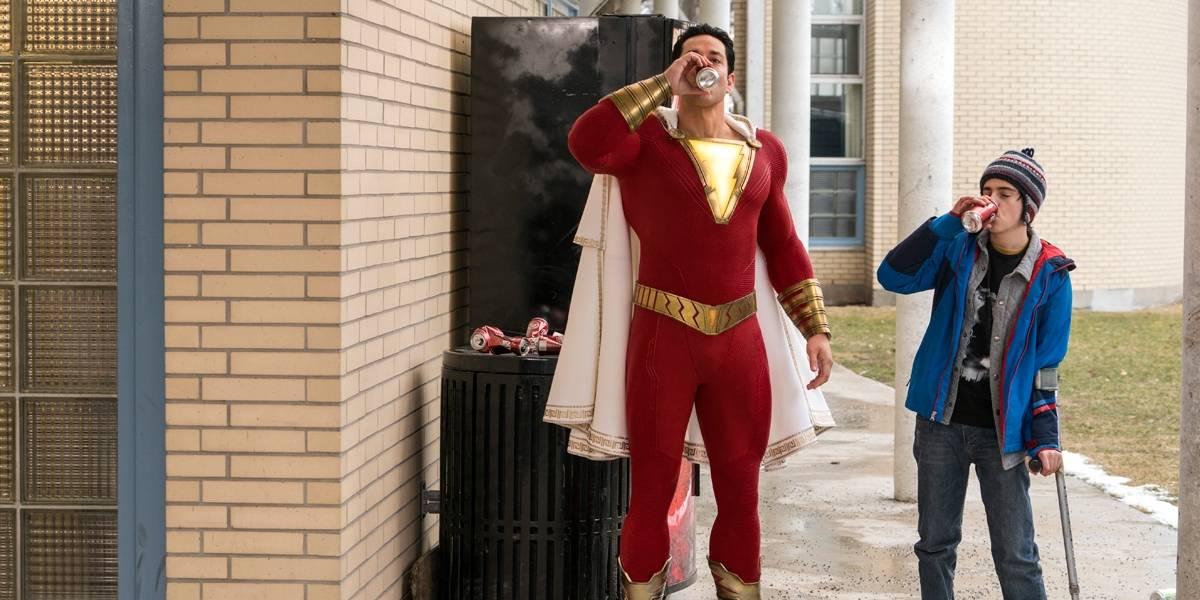 'Shazam' passa de US$ 200 milhões em bilheteria e desbanca 'Hellboy'