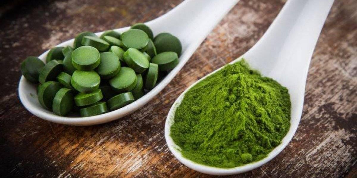 Alga espirulina sirve para bajar de peso