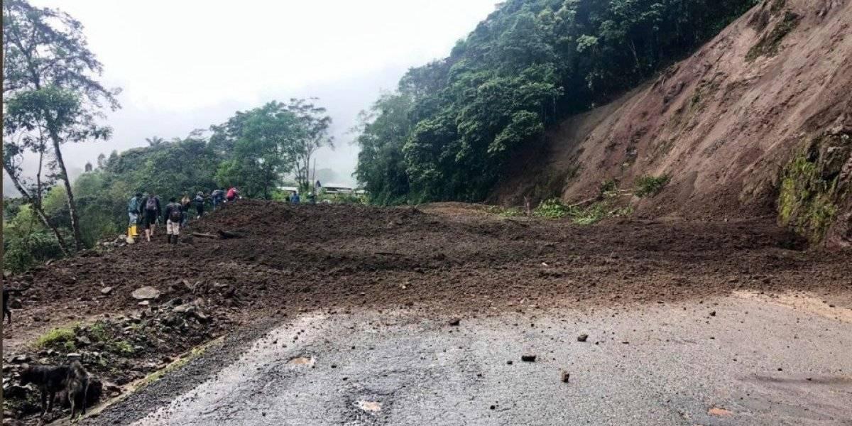 Pichincha: Cerrado tramo de la vía Calacalí- La Independencia