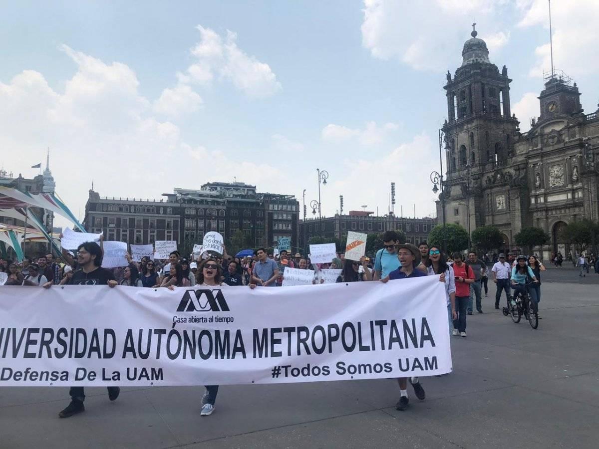 La huelga de la UAM lleva 63 días Foto: Erendira Mejía