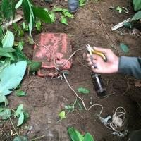 Patrulla militar encuentra trampa explosiva en Mataje