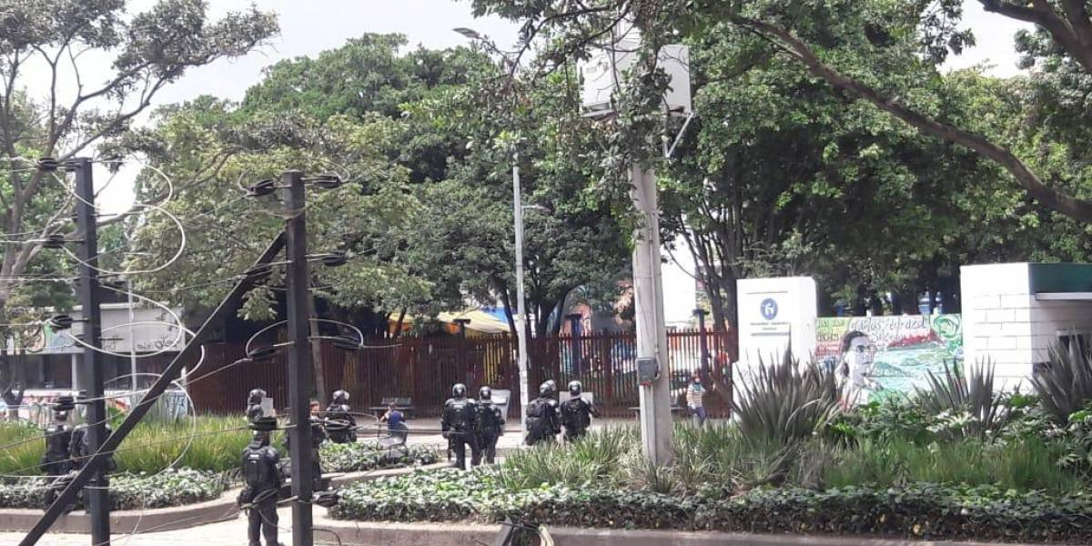 ¡ATENCIÓN! grave situación de orden público en inmediaciones de la Universidad Pedagógica