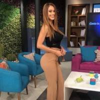 Yanet García 'la chica del clima más linda' encendió instagram con su sensual atuendo