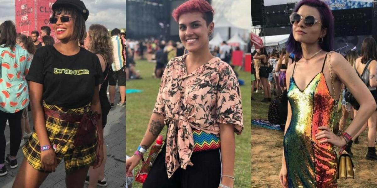 Lollapalooza: Confira os looks da galera no primeiro dia de festival (e aceita, as pochetes não irão embora)
