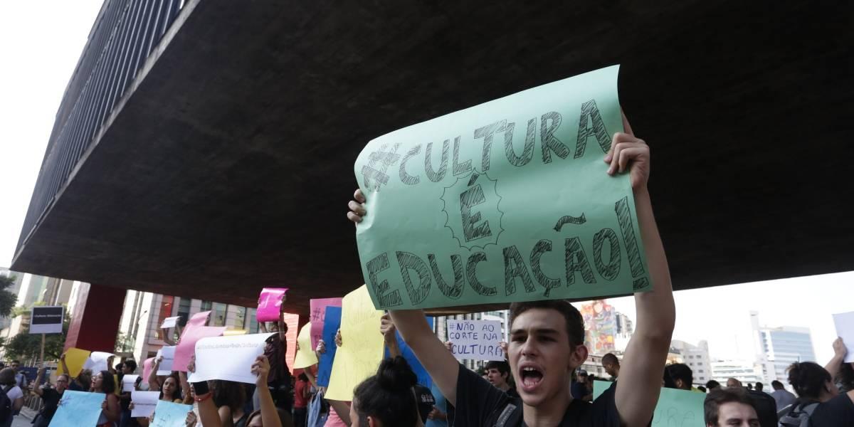 Estudantes de escolas de música de SP se manifestam contra apagão cultural