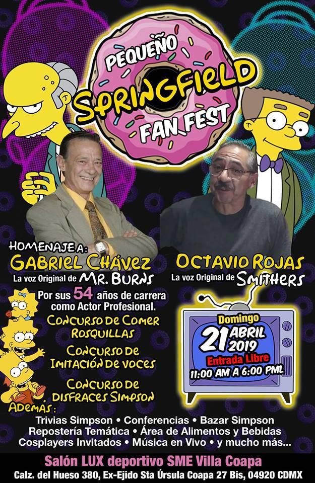 Los Simpsons fest