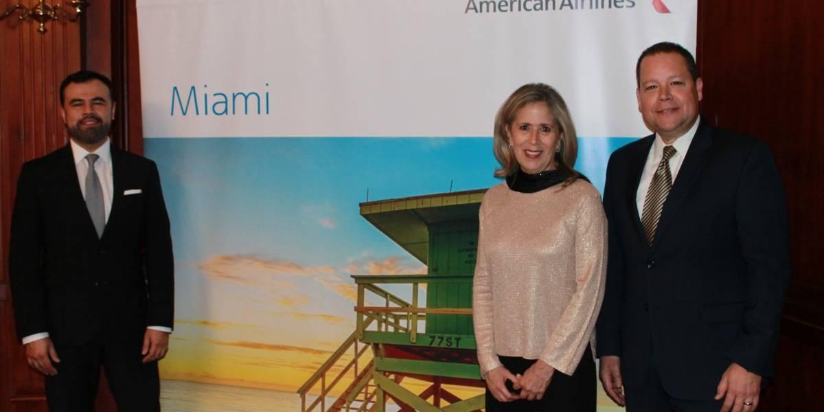 Nuevo ejecutivo de American Airlines visitó Ecuador