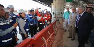AMLO supervisa obras del Tren de Guadalajara