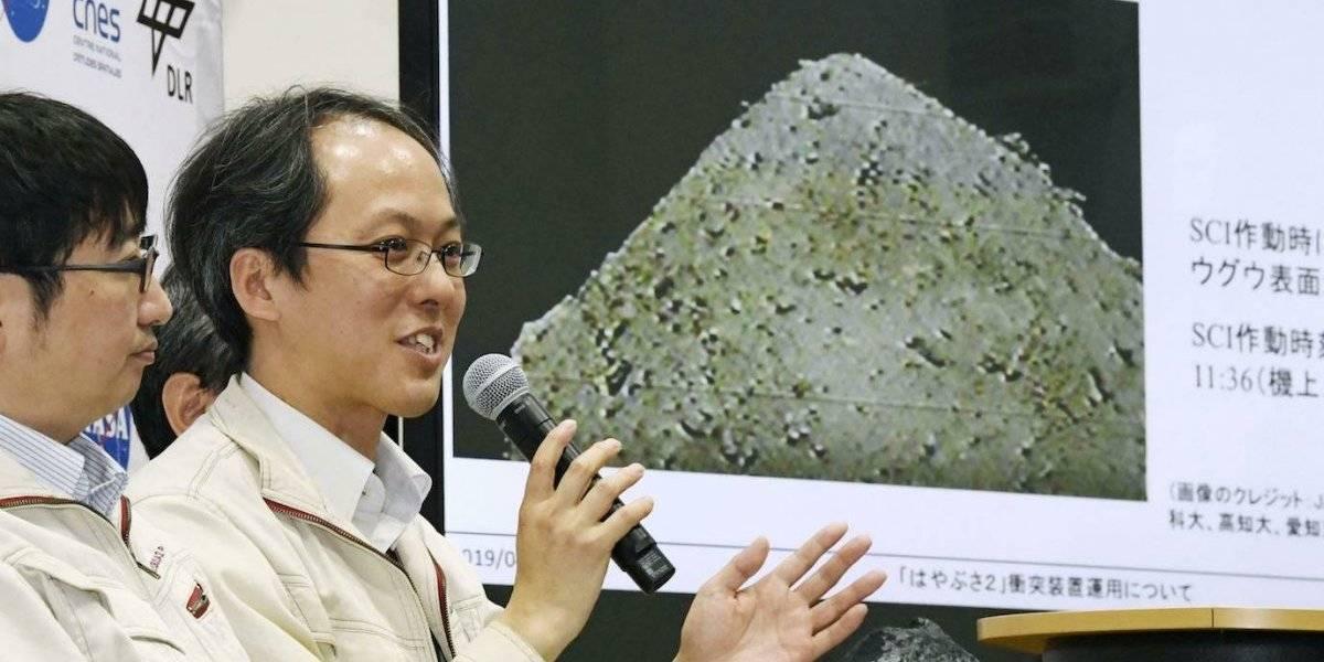 Japón lanza explosivo sobre asteroide en el Espacio